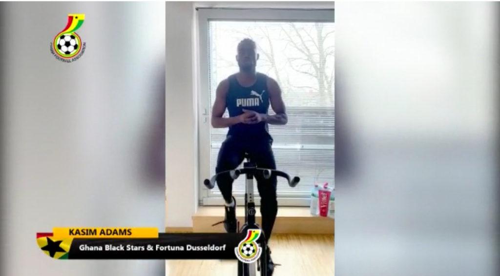 VIDEO: German-based Ghana defender Kasim Nuhu shares advise on staying safe amid coronavirus pandemic
