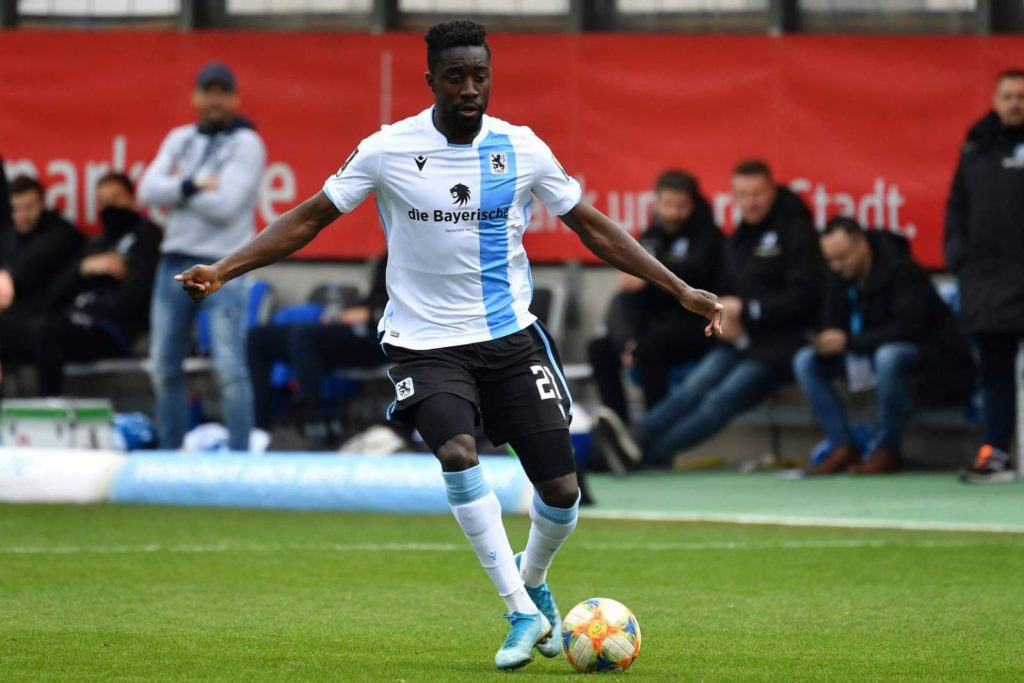 Check out how Prince Osei Owusu is doing on loan at 1860 Munich