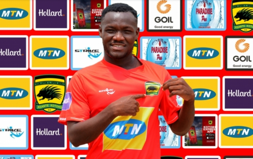 OFFICIAL: Asante Kotoko snap up Emmanuel Sarkodie from Nkoranza Warriors