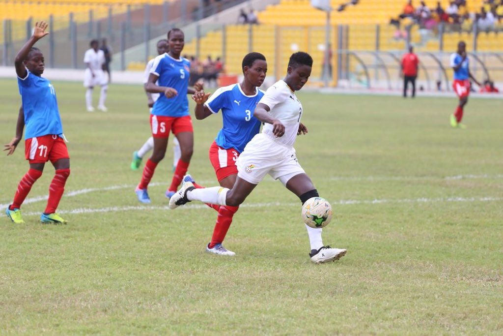FIFA U-17 WWC Qualifier: Black Maidens set up epic clash with Nigeria in final round