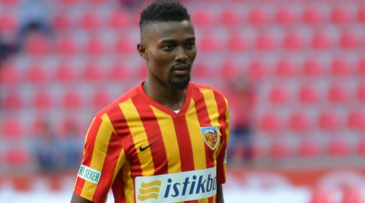 Midfielder Bernard Mensah emerges as Kayserispor third most prolific goal scorer this season