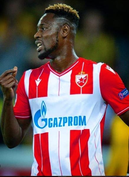 Red Star Belgrade forward Boakye-Yiadom will make squad for Sudan clash, injury not serious- GFA Communications Director