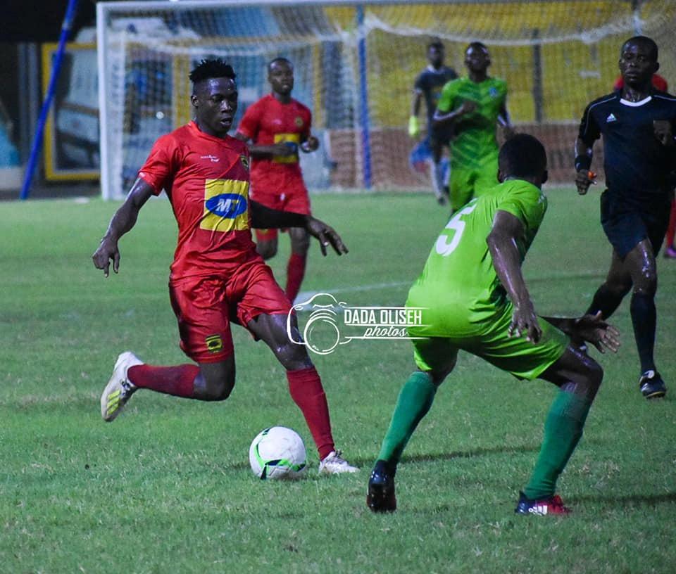 2019/20 Ghana Premier League: Week 14 Match Report - Asante Kotoko 0-0 Elmina Sharks