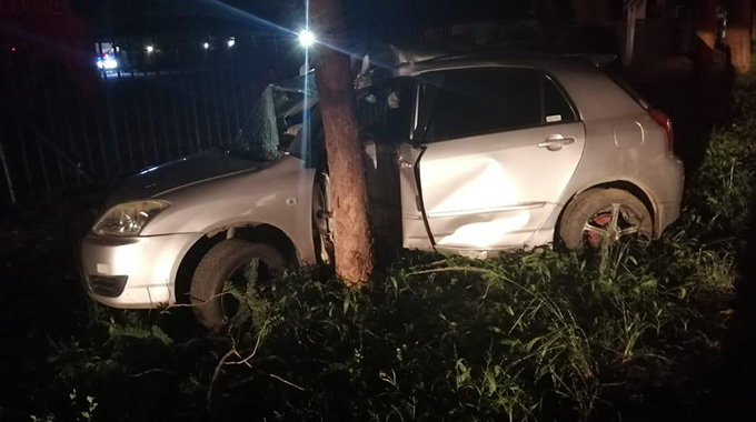 Africa News: Dynamos captain Patson Jaure involved in nasty car accident