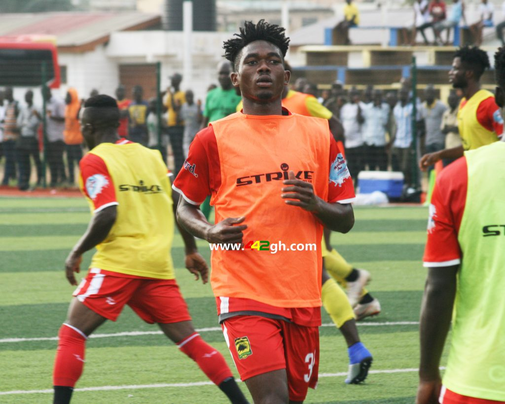 Legon Cities interested in Asante Kotoko defender Empem Dacosta - Reports