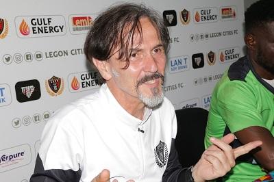 I respect WAFA but I don't fear them- Legon Cities FC coach Goran Barjakterevic