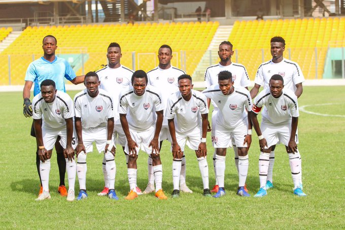 VIDEO: Highlights of Dwarfs' draw with Inter Allies in Cape Coast