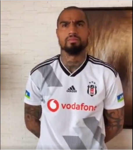 VIDEO: K.P Boateng and family remake a home champions league game