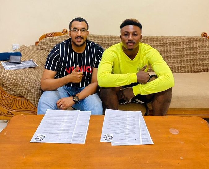 VIDEO: Sifeza Sports Management signs former Sudanese Premier League goal king Richmond Antwi