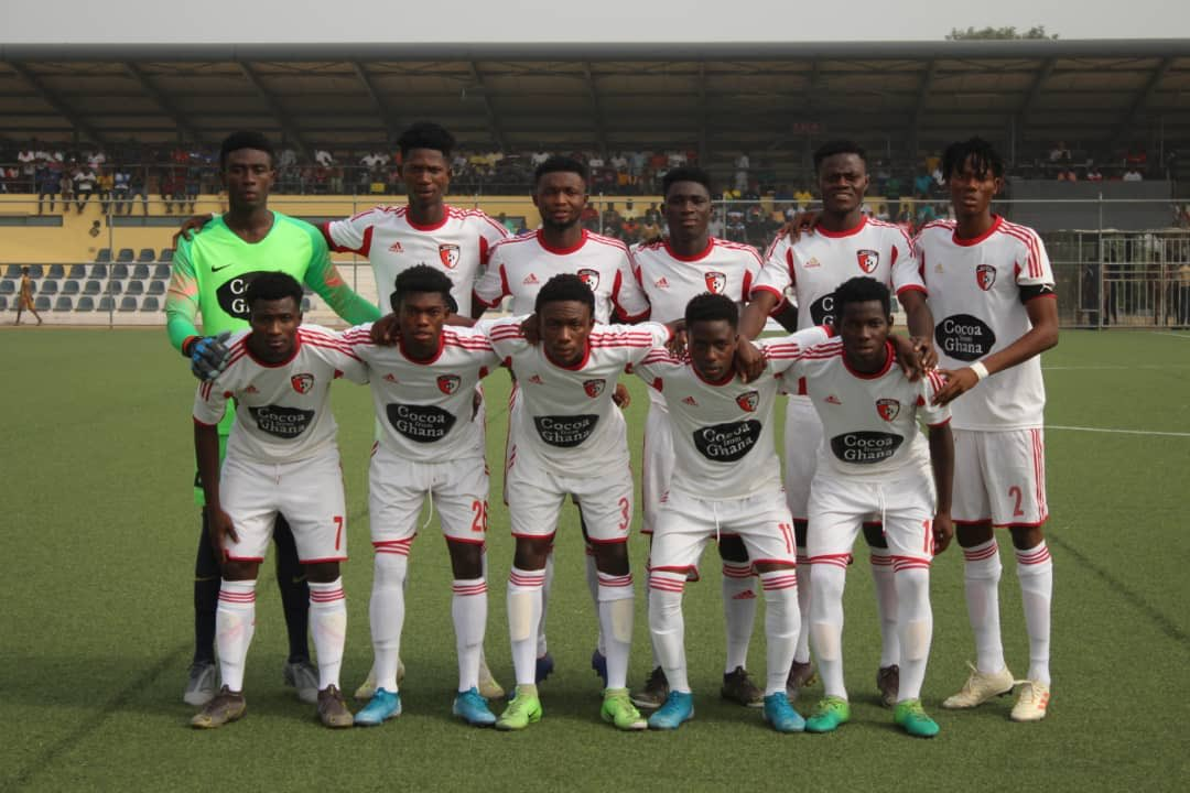 2019/20 Ghana Premier League: Week 15 Match Report- Berekum Chelsea  1-2 WAFA SC