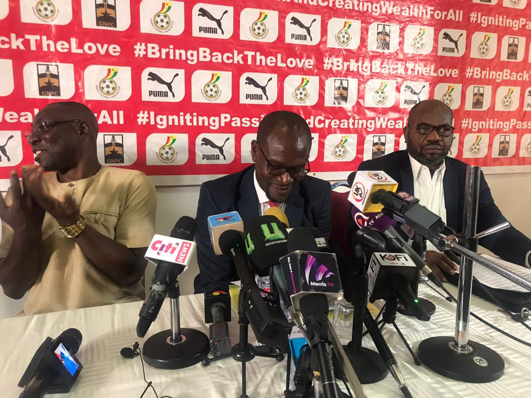 VIDEO: Watch full press conference as CK Akonnor announces first Black Stars squad