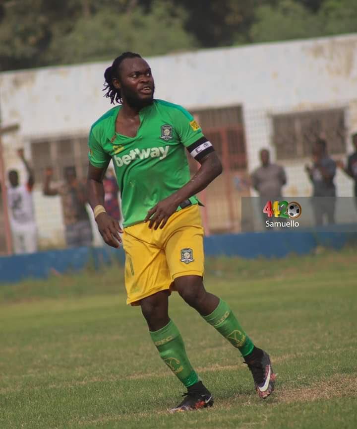 Aduana Stars forward Yahaya Mohammed 'misses the league'