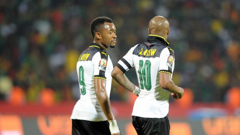 The Ayew brothers return to Ghana