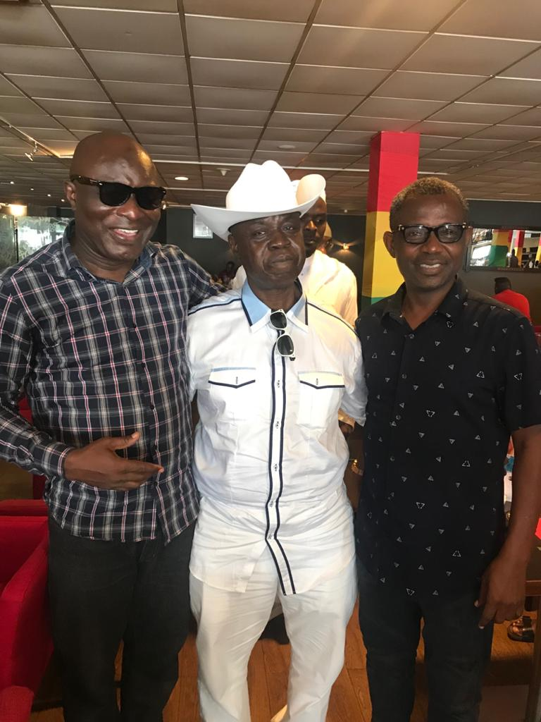 Breaking News: Peace prevails between Amin Lamptey and Jiji after Alhaji Inusah intervention