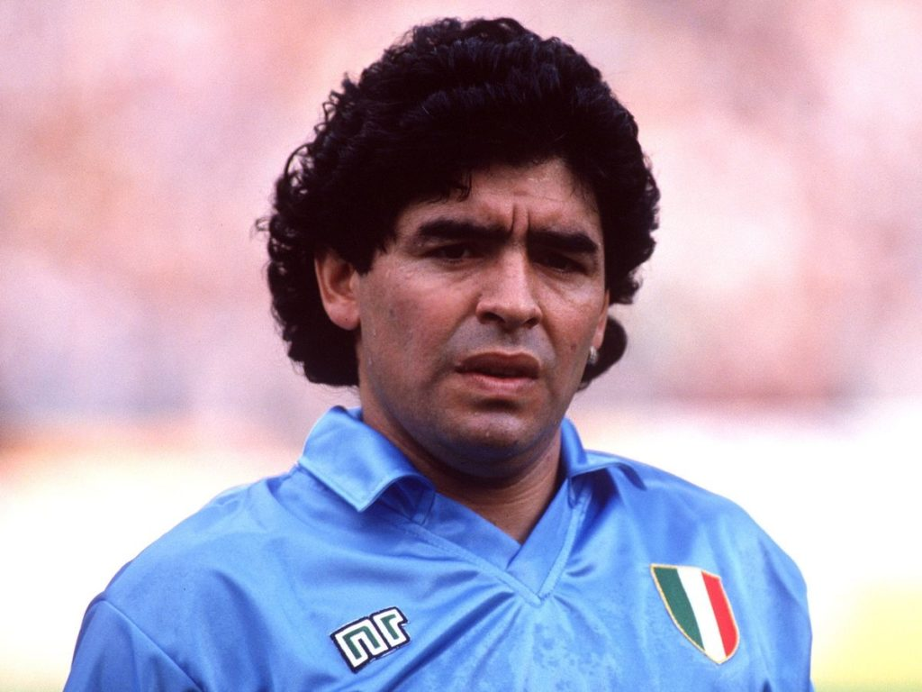 Diego Maradona was accused of using the drug in the World Cup tournament. Source: Mirror
