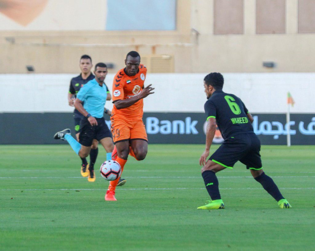 VIDEO: Ghanaian striker William Owusu Acheampong scores 8th goal of the season in UAE