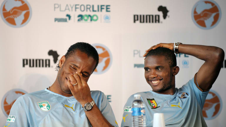 Legends Eto'o and Drogba slam doctors who proposed testing COVID-19 vaccines in Africa