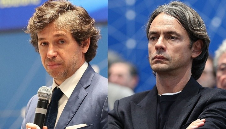 War of words between Milan legends continues as Inzaghi hits back at Albertini