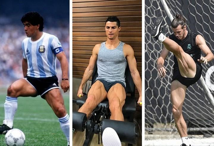 Ronaldo, Maradona & Bale... Meet 10 footballers who never skipped leg day