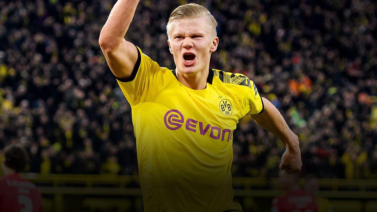 Man Utd to battle Real Madrid for Dortmund's Haaland - sources
