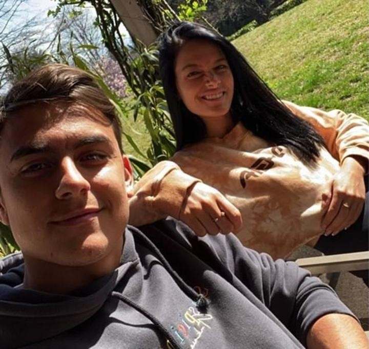 Dybala' GF reveals they wanted to leave Italy after contracting coronavirus