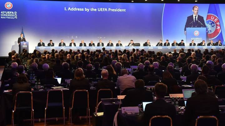 UEFA still aiming to complete top leagues and Champions League (AS)
