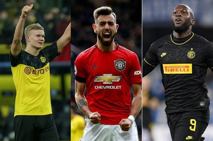 Haaland, Lukaku, Fernandes.... 15 best deals in transfer market of this season