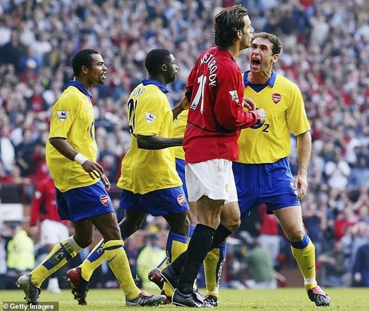 Ex-Arsenal defender Lauren has no regrets over bust-up with Man Utd in 2003