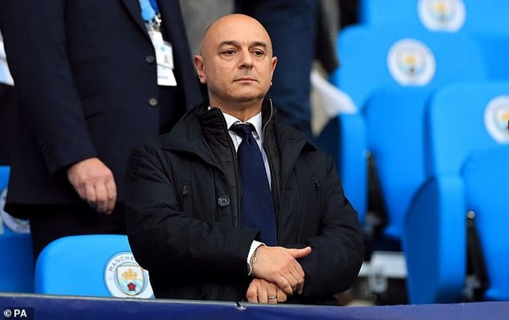 Tottenham staff 'told of 20% pay cut just 30 mins before Levy's announcement'