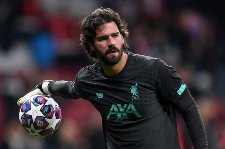 Chelsea's advanced talks with Liverpool keeper Alisson Becker over transfer