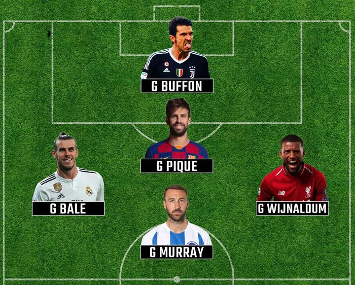 Gianluigi Buffon,Gareth Bale ... Who else to lead the five-a-side?