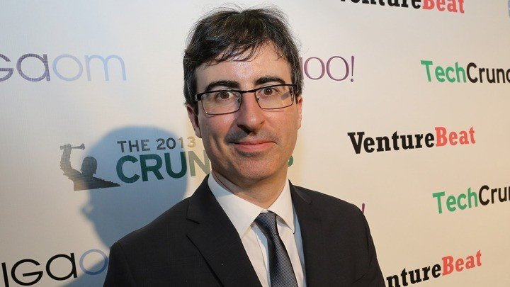 What team does John Oliver support?