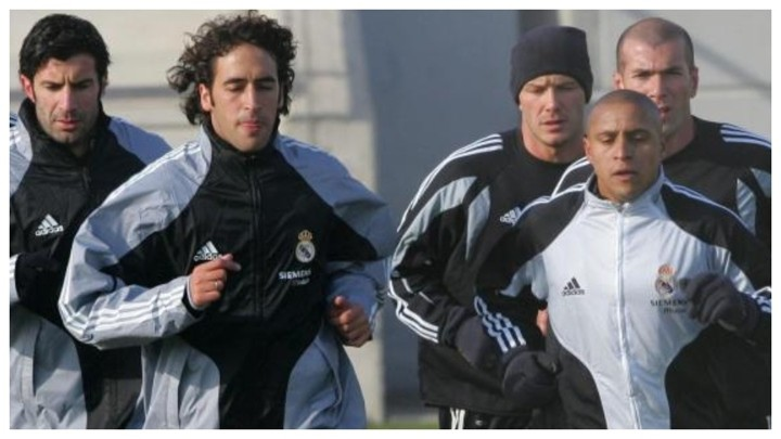 Real Madrid's galacticos could have shone in athletics
