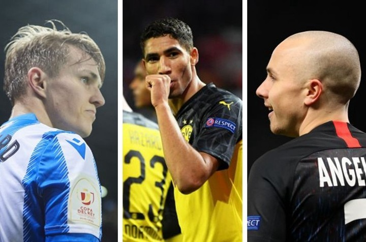 Hakimi, Odegaard & Angelino... Stars who could return to parent clubs in summer