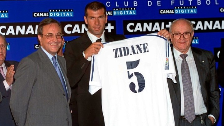 Moggi's story about Zidane's transfer from Juventus to Real Madrid
