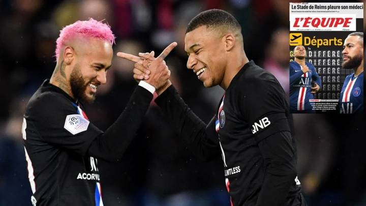 Mbappe and Neymar will both stay at PSG this year (L'Equipe)