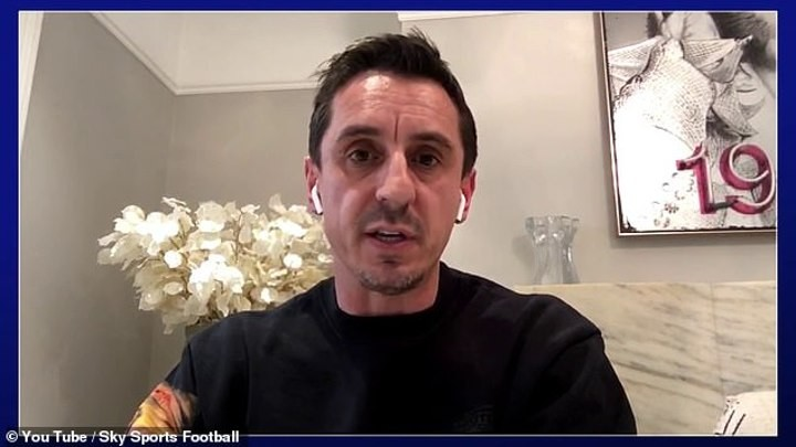 Gary Neville rues football's failure to set example to the public for wage cut