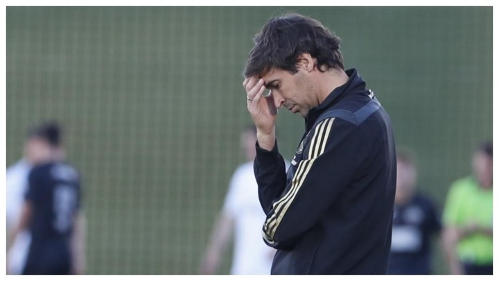 Raul: In life, like in football, you have to face up to difficult moments