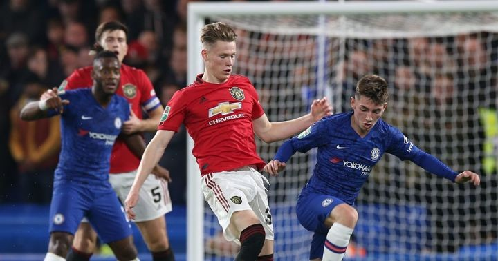 Gilmour states McTominay is the toughest opponent he's faced on the field