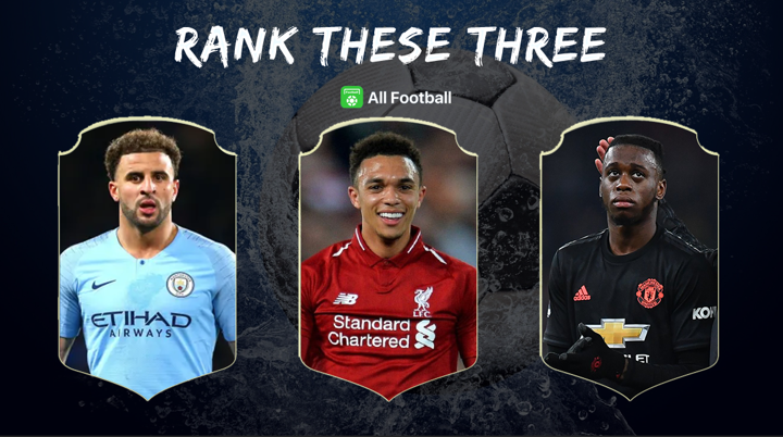 Rank These Three E20: Walker, Alexander-Arnold and Wan-Bissaka