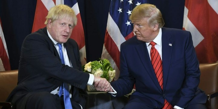 UK rejects Trump's offer to help with Boris Johnson's coronavirus treatment