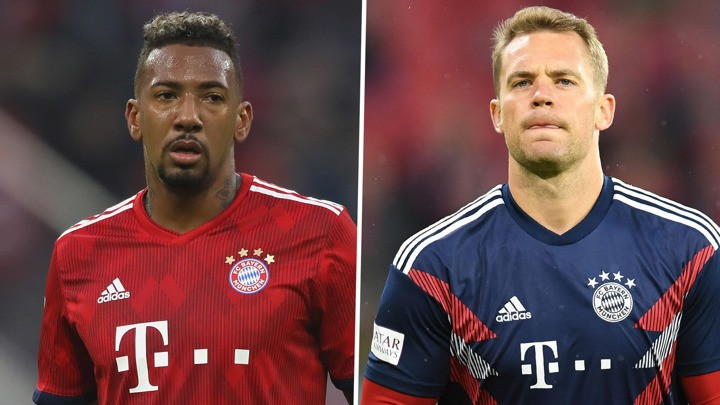 Neuer & Boateng sent contract message by Bayern Munich boss Flick