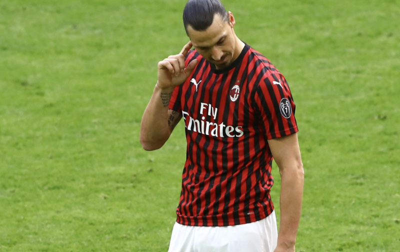 Ibrahimovic could leave AC Milan but continue career in Serie A