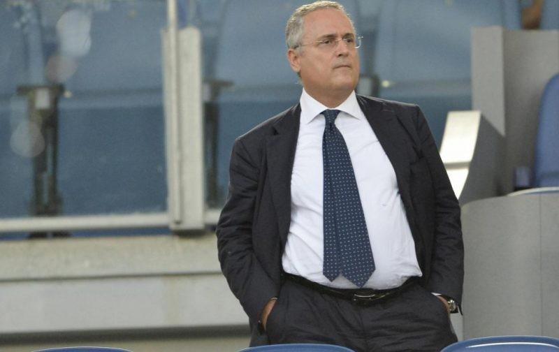 Lotito: Safe for Lazio to train at Formello