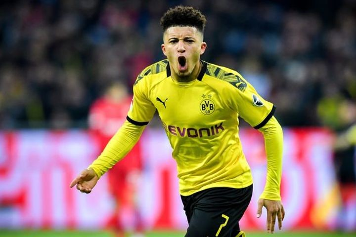 Jadon Sancho's potential Man Utd transfer gathers pace as Dortmund identify replacement