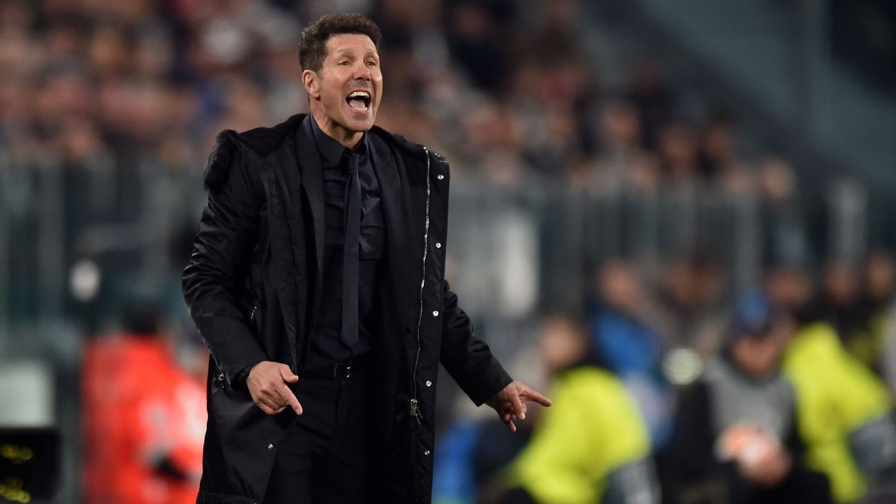 Atletico Madrid players, Diego Simeone take 70% pay cut amid coronavirus impact