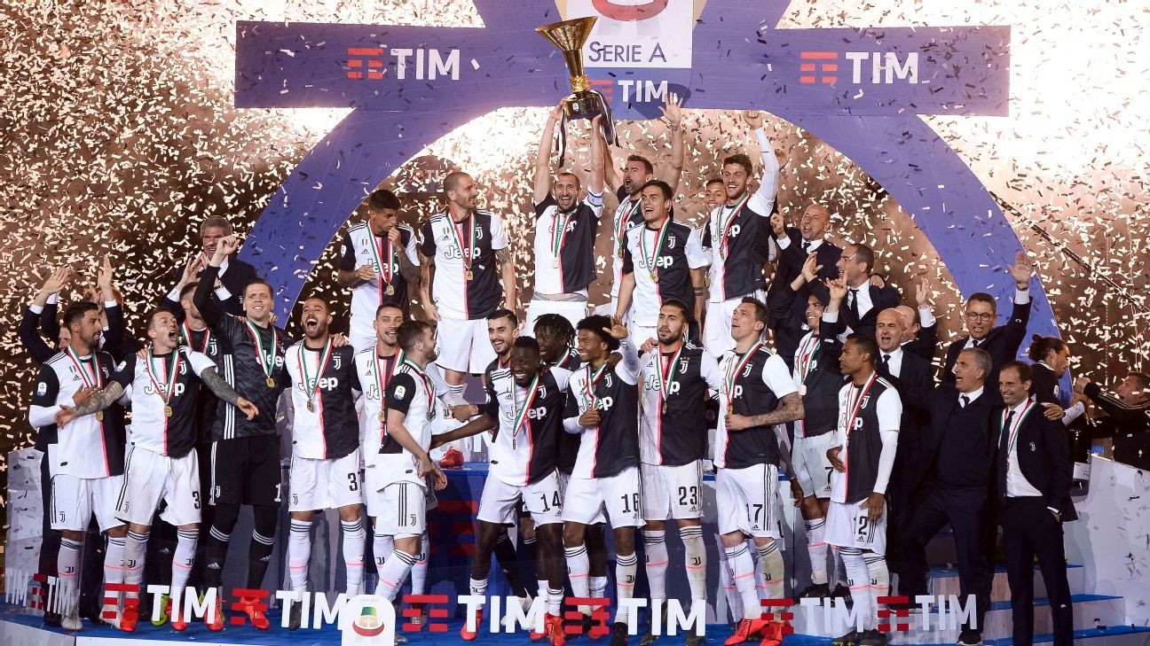 Juventus would not accept winning Serie A title due to coronavirus - FA chief