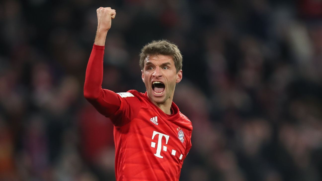 Thomas Muller extends contract with Bayern Munich until 2023