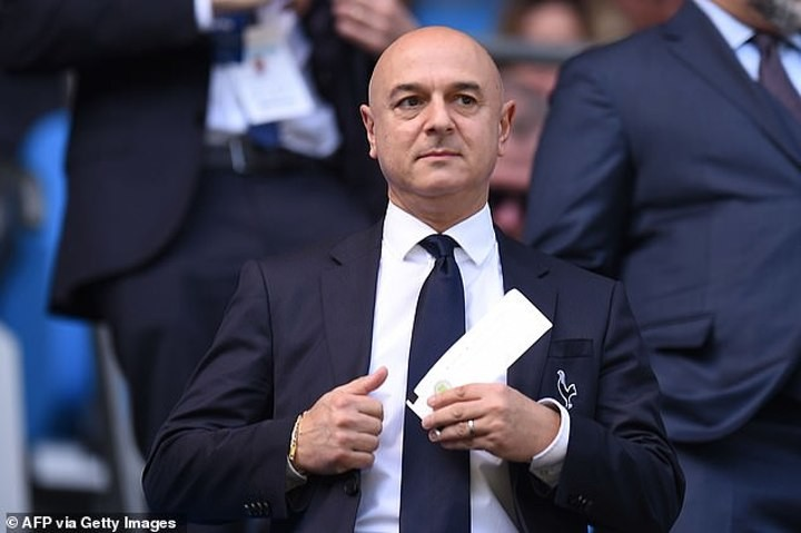 Tottenham players angered by pay cut proposal after Daniel Levy opts to furlough 550 staffmembers