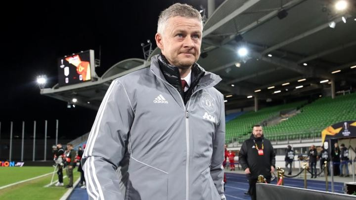 Solskjaer: Unfair to call out footballers, says Man Utd boss